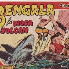 Tebeos: BENGALA 2ª PARTE: NUMERO 22 LA DIOSA DEL VOLCAN , EDITORIAL MAGA. Lote 238259835