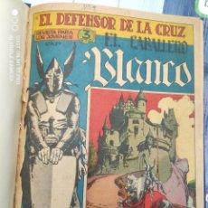 Tebeos: CABALLERO BLANCO Y MARCO EL GLADIADOR ENCUARDENADO EBN UN SOLO VOLUMEN. Lote 238260355