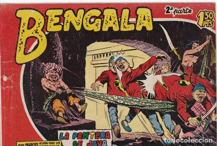 BENGALA 2ª PARTE: NUMERO 6 LA PANTERA DE JAVA , EDITORIAL MAGA (Tebeos y Comics - Maga - Otros)
