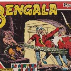 Tebeos: BENGALA 2ª PARTE: NUMERO 6 LA PANTERA DE JAVA , EDITORIAL MAGA. Lote 238261395