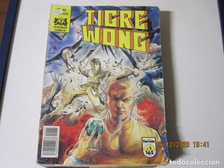 Tebeos: TIGRE WONG de Mike Baron y Tony Wong. Lote de 8 comics. Comics Forum 1990 numeros 3/5/6/7/8/9/10/11 - Foto 2 - 238296610