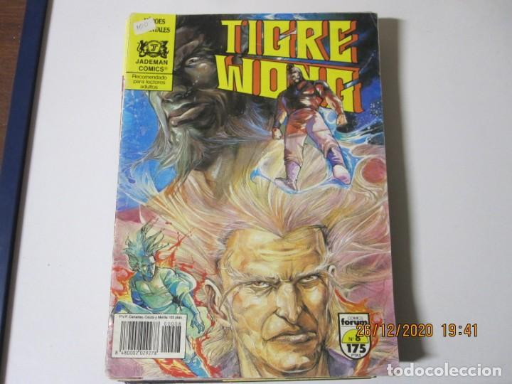 Tebeos: TIGRE WONG de Mike Baron y Tony Wong. Lote de 8 comics. Comics Forum 1990 numeros 3/5/6/7/8/9/10/11 - Foto 5 - 238296610