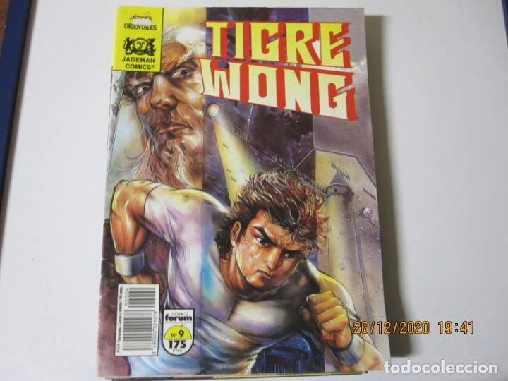 Tebeos: TIGRE WONG de Mike Baron y Tony Wong. Lote de 8 comics. Comics Forum 1990 numeros 3/5/6/7/8/9/10/11 - Foto 6 - 238296610