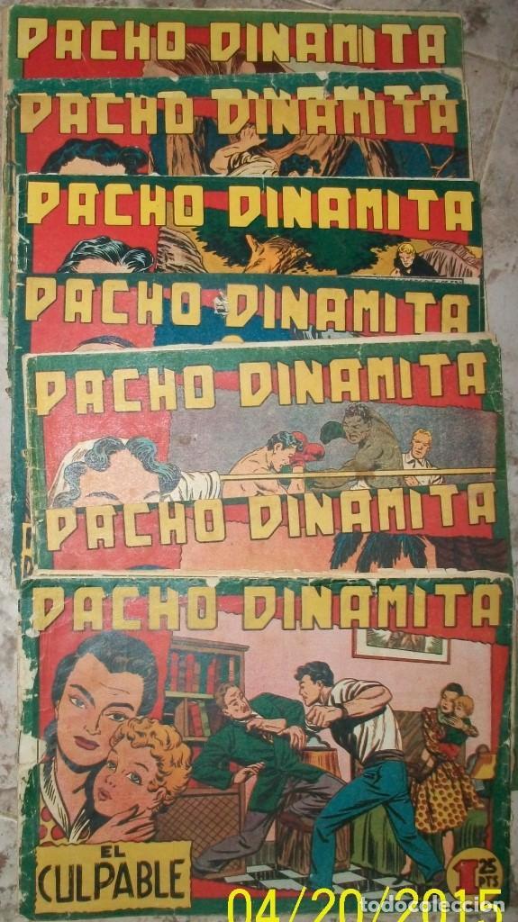 PACHO DINAMITA (MAGA) LOTE DE 15 DIFERENTES (VER LA DESCRIPCION) (Tebeos y Comics - Maga - Pacho Dinamita)