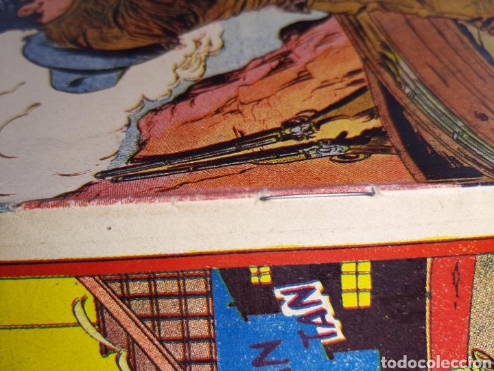 Tebeos: Almanaque de Dan Barry para 1957 original y MUY NUEVO - Foto 2 - 239400635