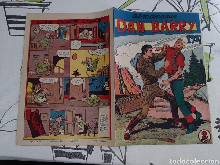 ALMANAQUE DE DAN BARRY PARA 1957 ORIGINAL Y MUY NUEVO (Tebeos y Comics - Maga - Dan Barry)