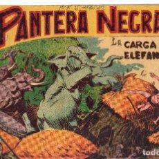 Tebeos: LA CARGA DE LOS ELEFANTES Nº 5 DE PANTERA NEGRA. Lote 240006825