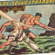 Tebeos: LOS SECUESTARDORES Nº 30 DE RAYO DE LA SELVA. Lote 240007245