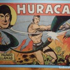 Tebeos: COMIC - HURACAN - UN MUNDO EN LLAMAS - Nº 4 - EDITORIAL MAGA -. Lote 240746205
