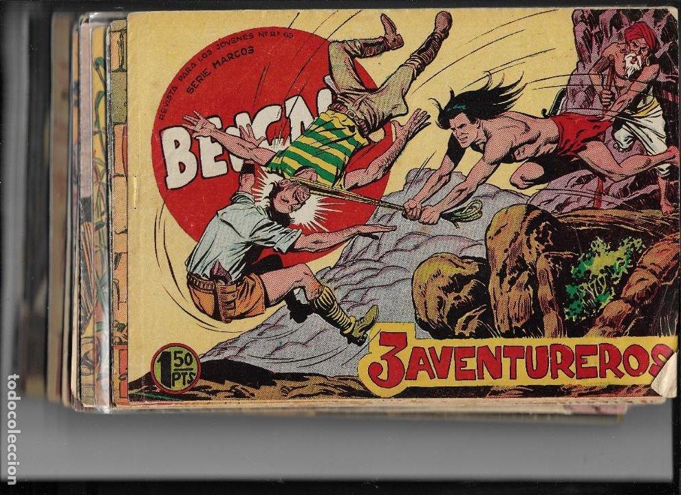 BENGALA AÑO 1960 COLECCIÓN COMPLETA SON 54 TEBEOS ORIGINALES DIBUJANTE L. ORTIZ (Tebeos y Comics - Maga - Bengala)