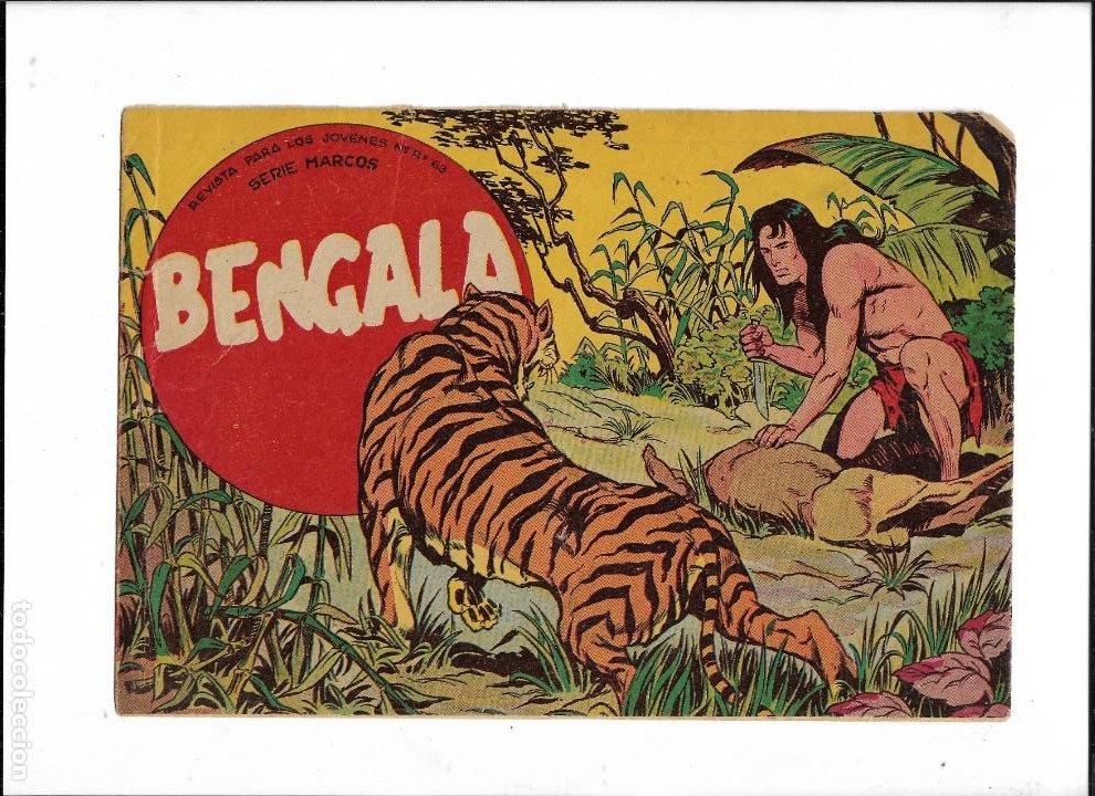 Tebeos: Bengala Año 1960 Colección Completa son 54 Tebeos Originales dibujante L. Ortiz - Foto 2 - 219455281