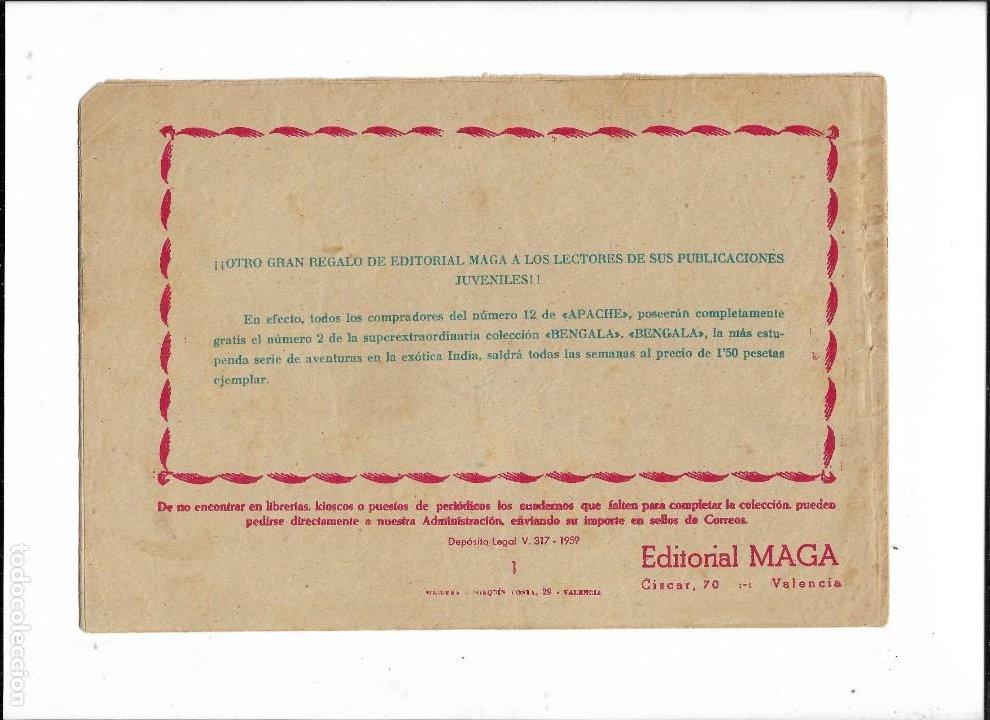 Tebeos: Bengala Año 1960 Colección Completa son 54 Tebeos Originales dibujante L. Ortiz - Foto 3 - 219455281