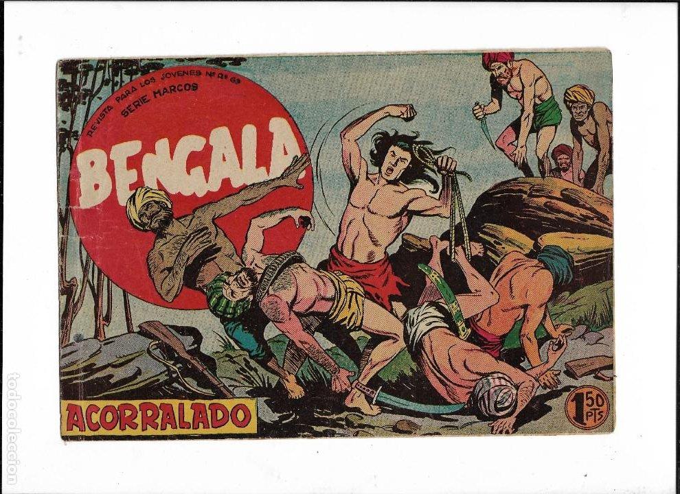 Tebeos: Bengala Año 1960 Colección Completa son 54 Tebeos Originales dibujante L. Ortiz - Foto 5 - 219455281