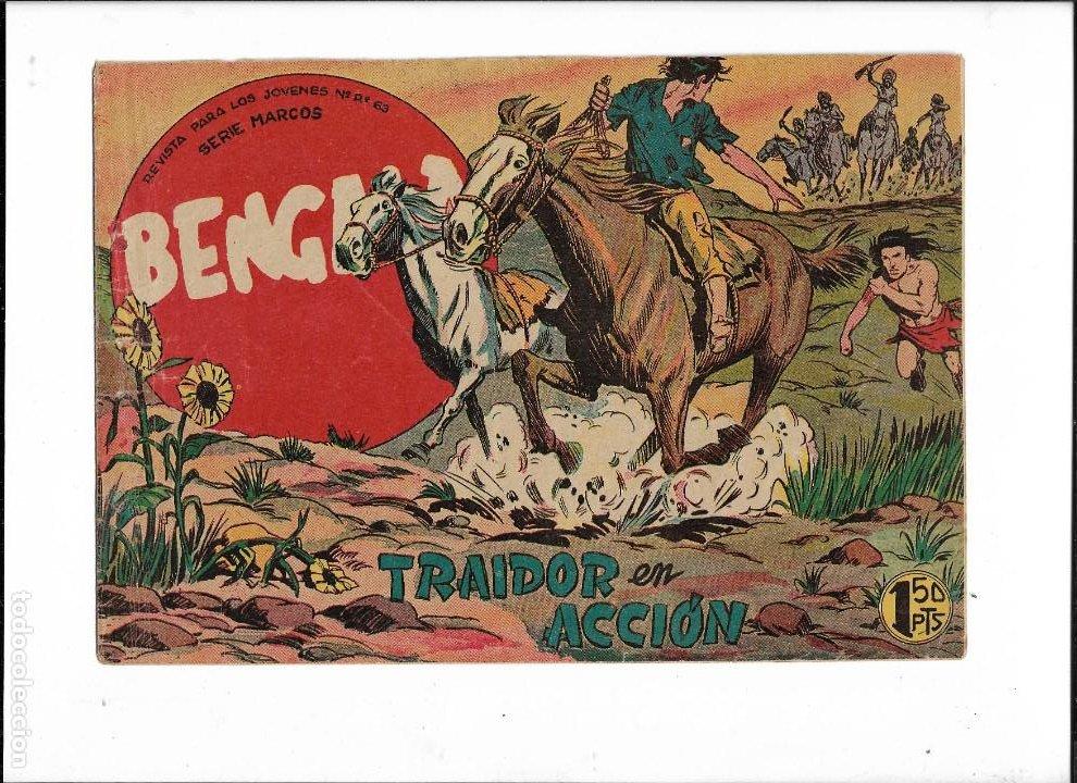 Tebeos: Bengala Año 1960 Colección Completa son 54 Tebeos Originales dibujante L. Ortiz - Foto 6 - 219455281
