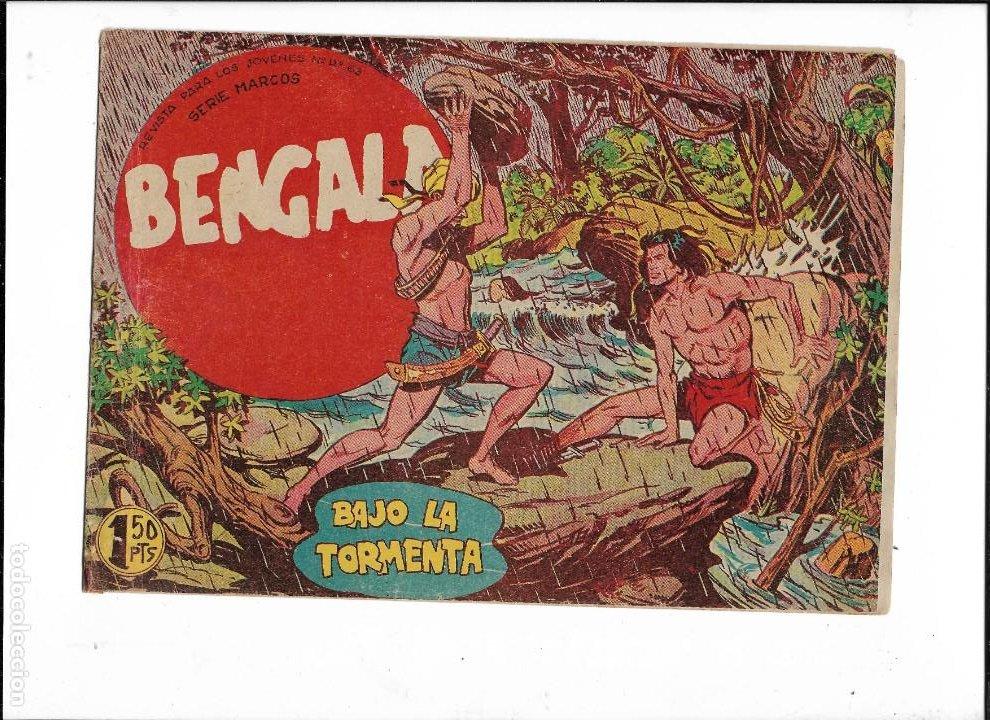 Tebeos: Bengala Año 1960 Colección Completa son 54 Tebeos Originales dibujante L. Ortiz - Foto 7 - 219455281