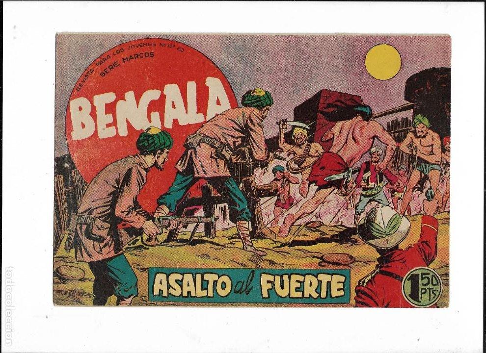 Tebeos: Bengala Año 1960 Colección Completa son 54 Tebeos Originales dibujante L. Ortiz - Foto 8 - 219455281