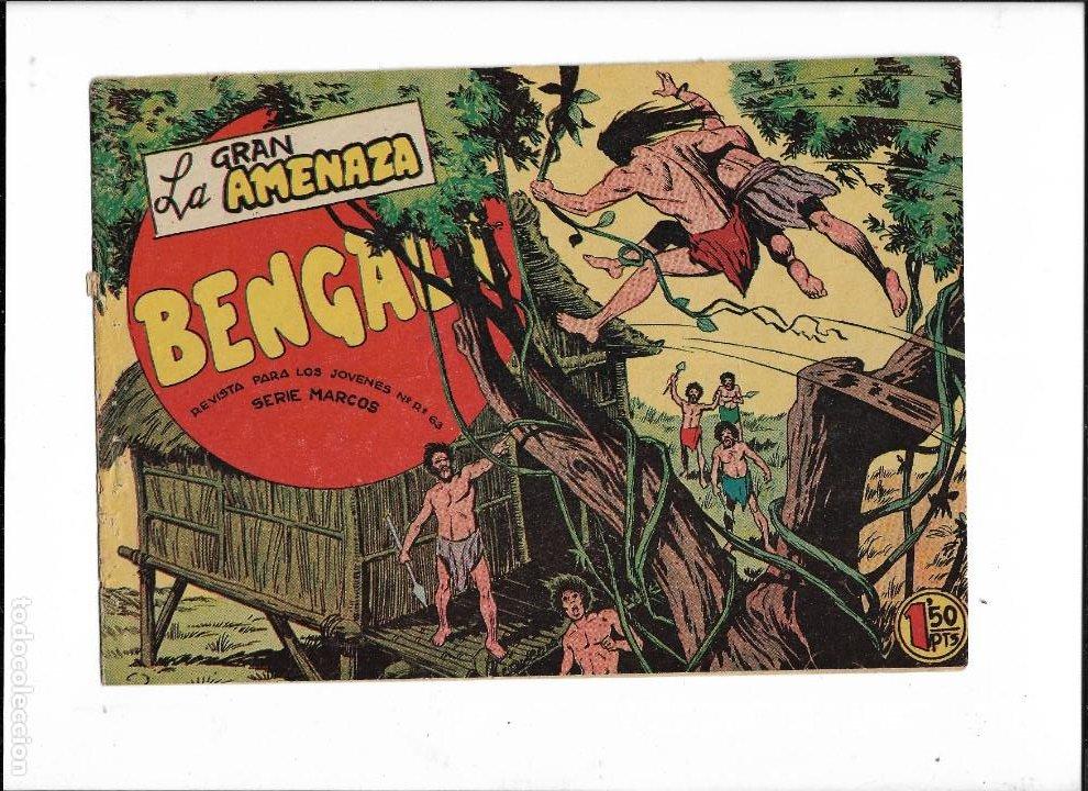 Tebeos: Bengala Año 1960 Colección Completa son 54 Tebeos Originales dibujante L. Ortiz - Foto 9 - 219455281