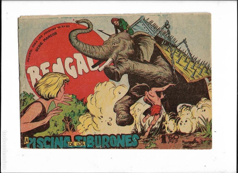 Tebeos: Bengala Año 1960 Colección Completa son 54 Tebeos Originales dibujante L. Ortiz - Foto 10 - 219455281