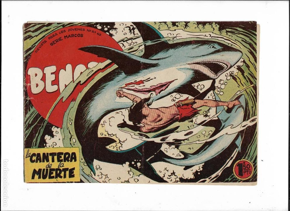 Tebeos: Bengala Año 1960 Colección Completa son 54 Tebeos Originales dibujante L. Ortiz - Foto 11 - 219455281