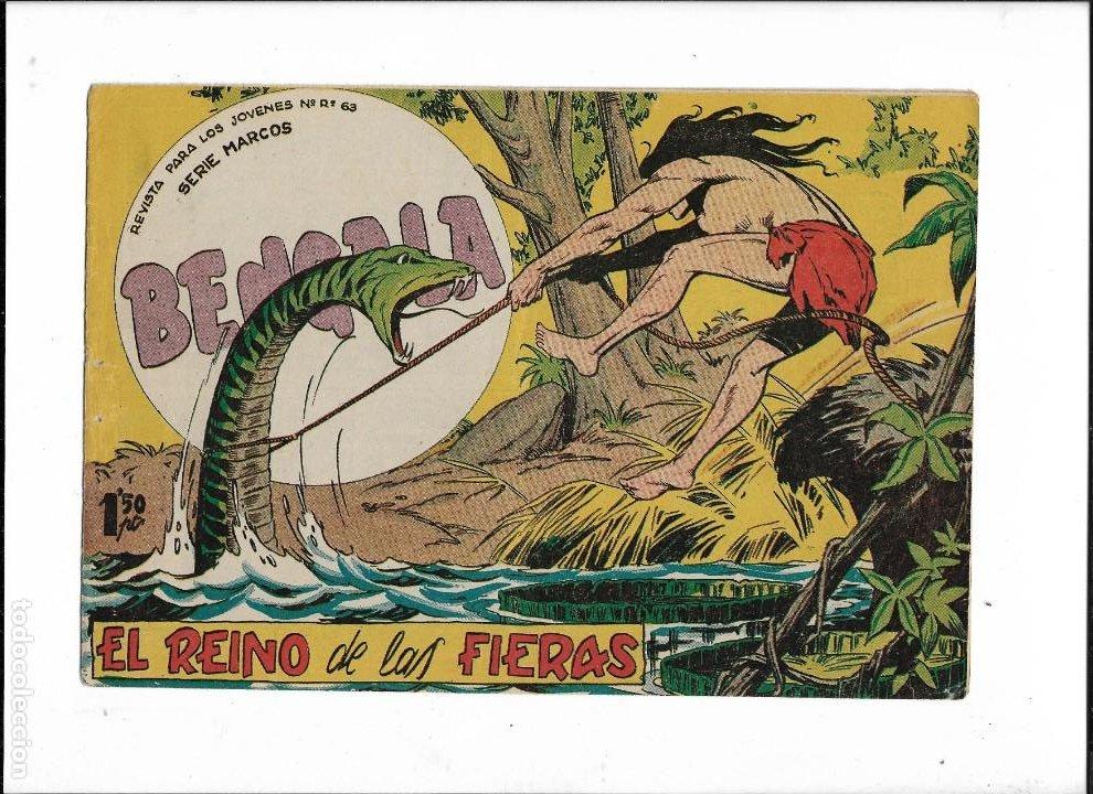 Tebeos: Bengala Año 1960 Colección Completa son 54 Tebeos Originales dibujante L. Ortiz - Foto 14 - 219455281