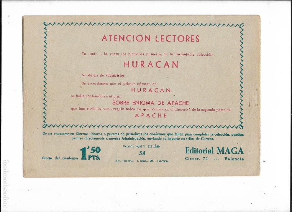 Tebeos: Bengala Año 1960 Colección Completa son 54 Tebeos Originales dibujante L. Ortiz - Foto 15 - 219455281