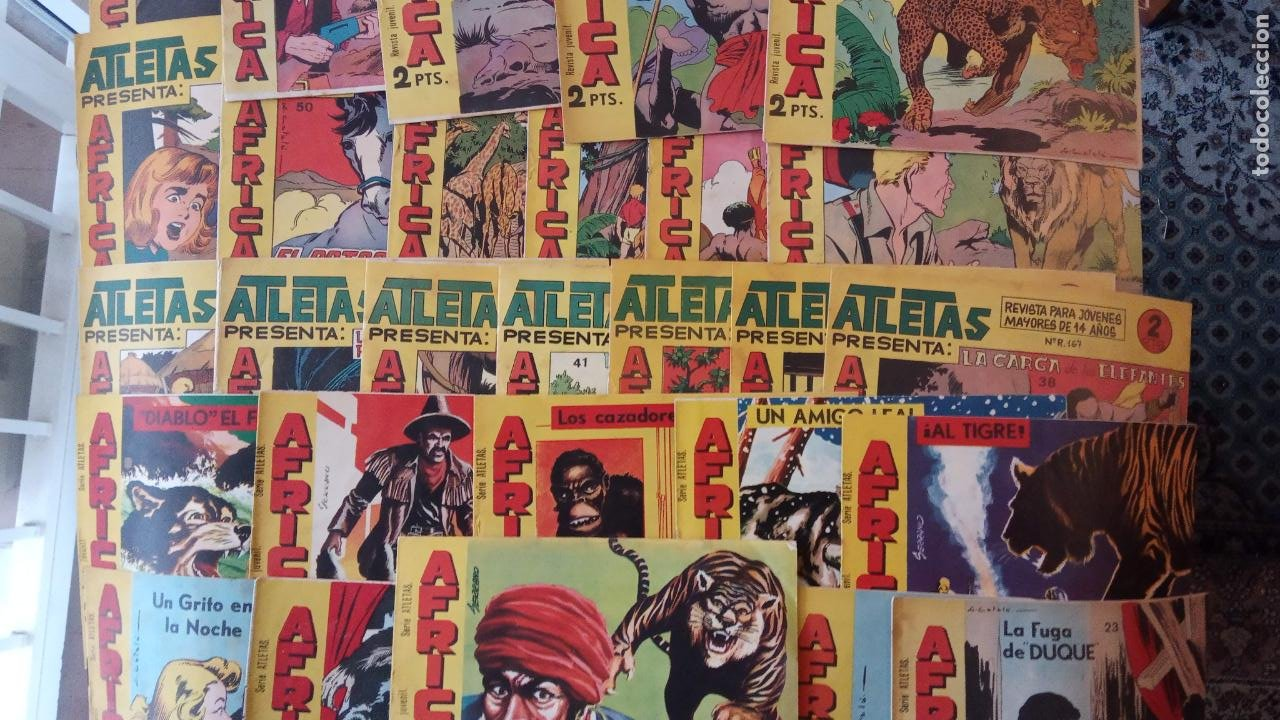 Tebeos: AFRICA ORIGINAL MAGA 1964 - 58 NºS, VER FOTOS Y LISTADO - Foto 5 - 240851175