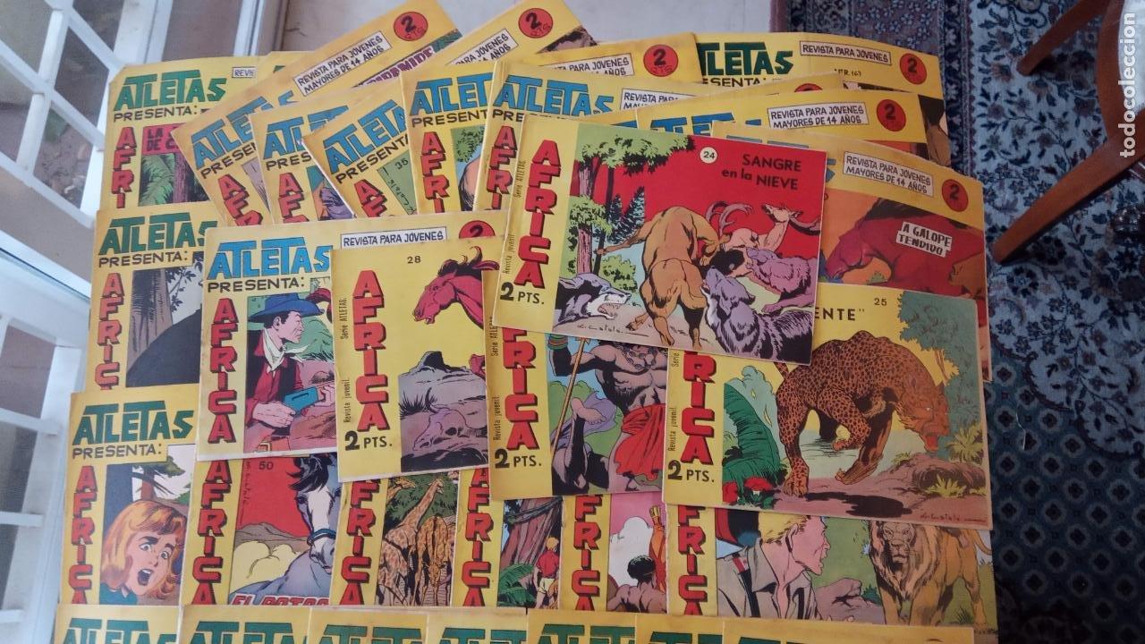 Tebeos: AFRICA ORIGINAL MAGA 1964 - 58 NºS, VER FOTOS Y LISTADO - Foto 6 - 240851175