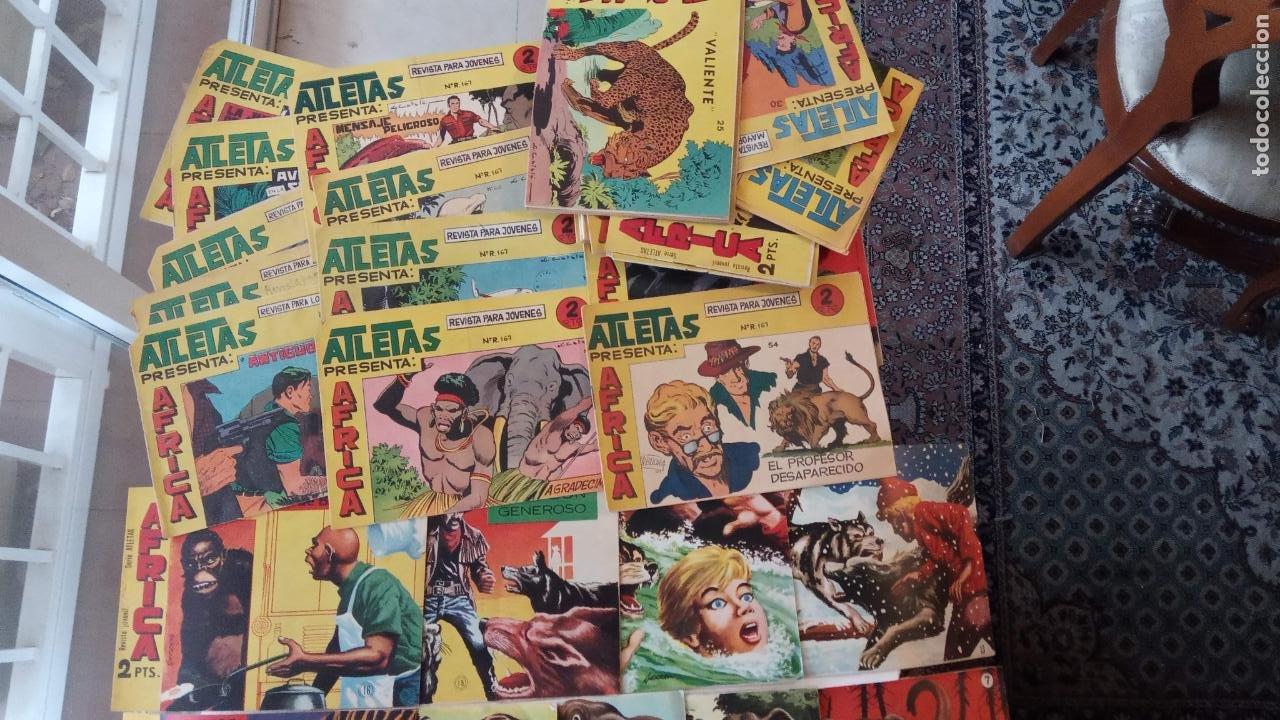 Tebeos: AFRICA ORIGINAL MAGA 1964 - 58 NºS, VER FOTOS Y LISTADO - Foto 8 - 240851175