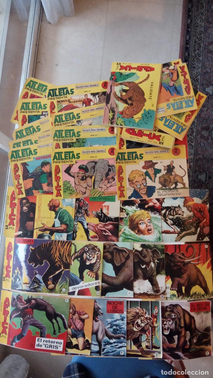 Tebeos: AFRICA ORIGINAL MAGA 1964 - 58 NºS, VER FOTOS Y LISTADO - Foto 9 - 240851175