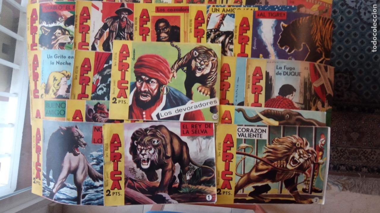 AFRICA ORIGINAL MAGA 1964 - 58 NºS, VER FOTOS Y LISTADO (Tebeos y Comics - Maga - Otros)