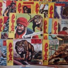 Tebeos: AFRICA ORIGINAL MAGA 1964 - 58 NºS, VER FOTOS Y LISTADO. Lote 240851175