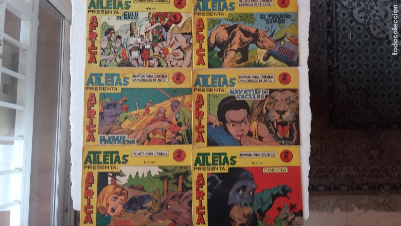 Tebeos: AFRICA ORIGINALES MAGA 1964 NºS - 33,34,35,36,37,38,41,51,58 - Foto 2 - 240852830