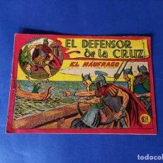 Tebeos: EL DEFENSOR DE LA CRUZ Nº 35 - ORIGINAL. Lote 241729130