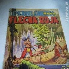 Livros de Banda Desenhada: TEBEO. EDITORIAL MAGA. LEYENDAS GRÁFICAS. FLECHA ROJA. Nº 28. VER FOTOS. Lote 242073210