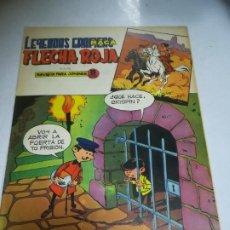 Livros de Banda Desenhada: TEBEO. EDITORIAL MAGA. LEYENDAS GRÁFICAS. FLECHA ROJA. Nº 54. VER FOTOS. Lote 242086320