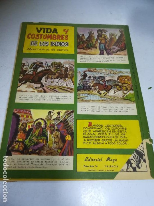 Tebeos: TEBEO. EDITORIAL MAGA. LEYENDAS GRÁFICAS. FLECHA ROJA. Nº 35. VER FOTOS - Foto 2 - 242087345