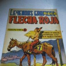 Tebeos: TEBEO. EDITORIAL MAGA. LEYENDAS GRÁFICAS. FLECHA ROJA. Nº 35. VER FOTOS. Lote 242087345