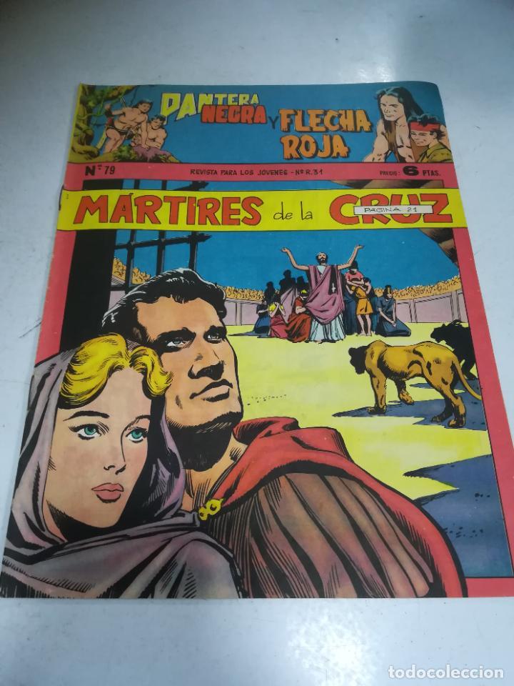 TEBEO. EDITORIAL MAGA. PANTERA NEGRA Y FLECHA ROJA. Nº 79. (Tebeos y Comics - Maga - Flecha Roja)