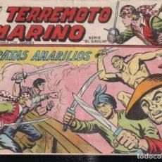 Livros de Banda Desenhada: EL TERREMOTO MARINO Nº 48: PIRATAS AMARILLOS. Lote 242849505