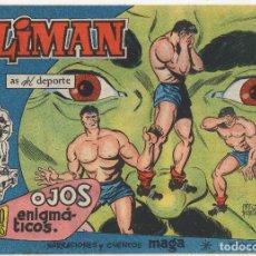 Tebeos: OLIMAN Nº 18 (MAGA 1961) CONTRAPORTADA C.F. BARCELONA.. Lote 243332415