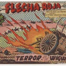 Tebeos: FLECHA ROJA Nº 40 (MAGA 1962). Lote 243335035