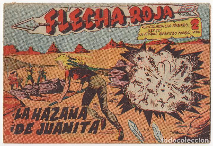 FLECHA ROJA Nº 29 (MAGA 1962) (Tebeos y Comics - Maga - Flecha Roja)