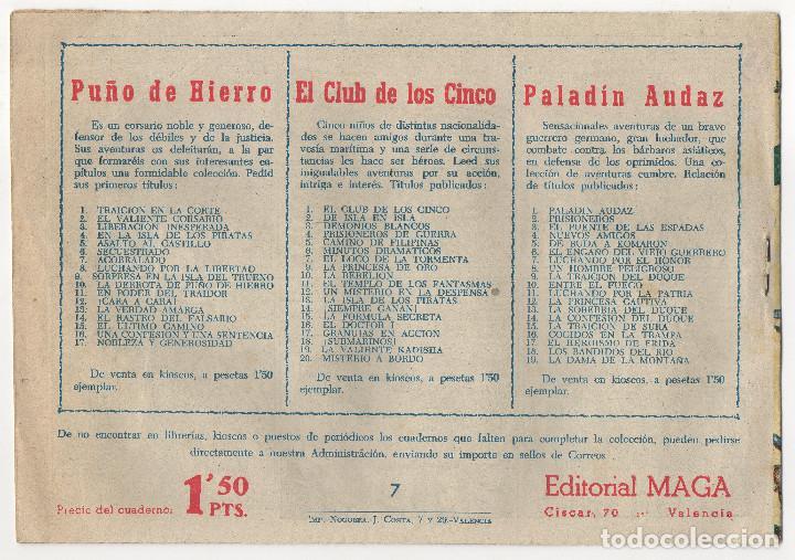 Tebeos: CAPITAN VALIENTE nº 7 (Maga 1957) - Foto 2 - 243337275