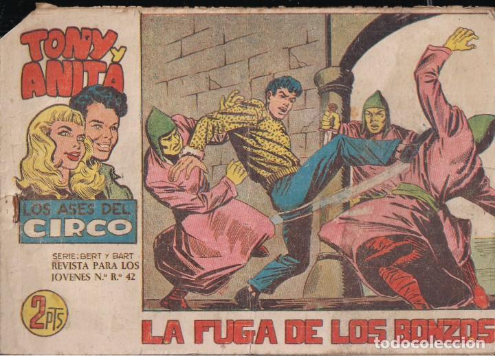 TONY Y ANITA 2ª Nº 76: LA FUGA DE LOS BONZOS (Tebeos y Comics - Maga - Tony y Anita)