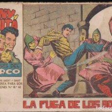 Tebeos: TONY Y ANITA 2ª Nº 76: LA FUGA DE LOS BONZOS. Lote 243606770