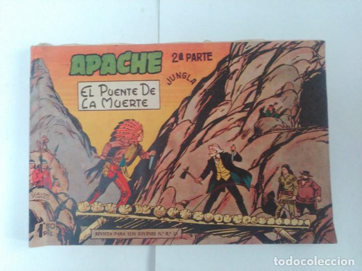 APACHE 2ºPARTE Nº10 (Tebeos y Comics - Maga - Apache)