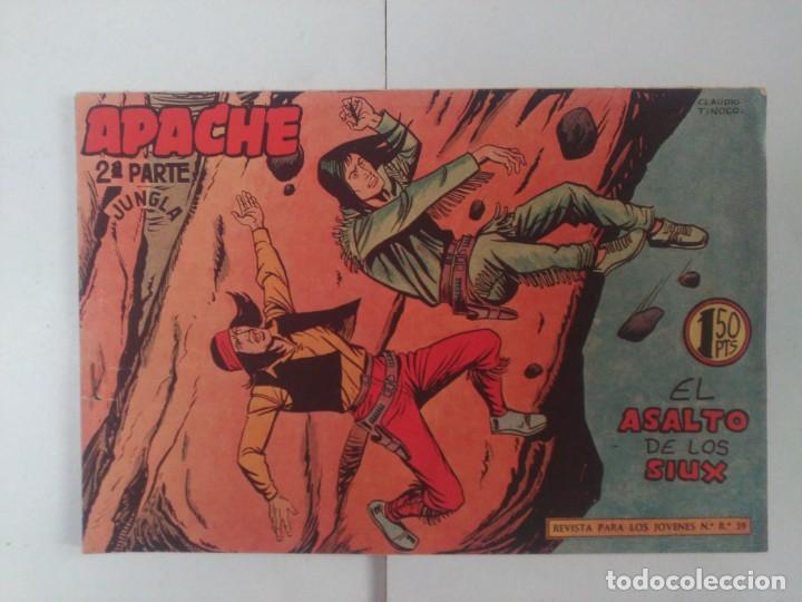 APACHE 2ºPARTE Nº54 (Tebeos y Comics - Maga - Apache)