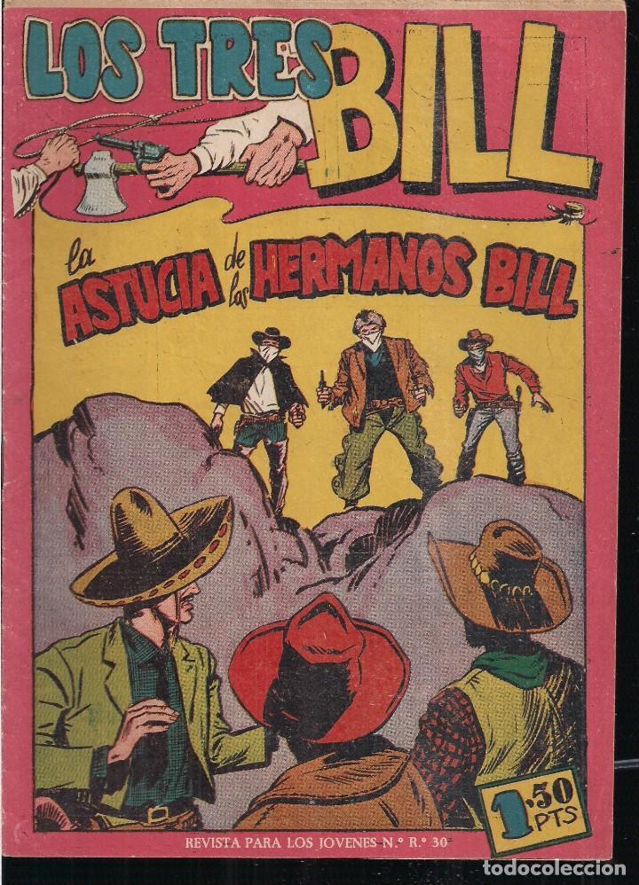 LOS TRES BILL Nº 34: LA ASTUCIA DE LOS HERMANOS BILL (Tebeos y Comics - Maga - Otros)