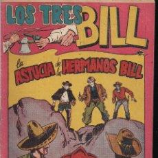 Tebeos: LOS TRES BILL Nº 34: LA ASTUCIA DE LOS HERMANOS BILL. Lote 243849295