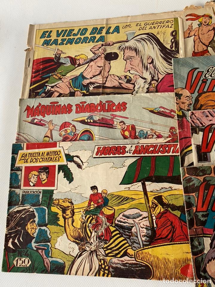 Tebeos: Lote de cómics VIEJO DE LA MAZMORRA, MÁQUINAS DIABOLICAS, PIEL DE LOBO, EL SARGENTO VIRUS, RAYO SELV - Foto 3 - 243862945